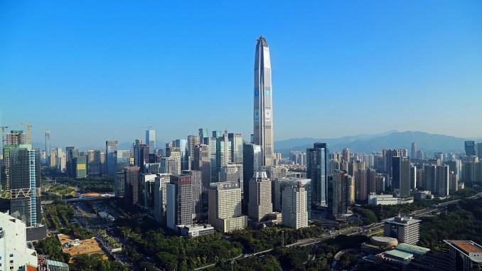 Το Οικονομικό Κέντρο Ping An στη Σεντσέν της Κίνας