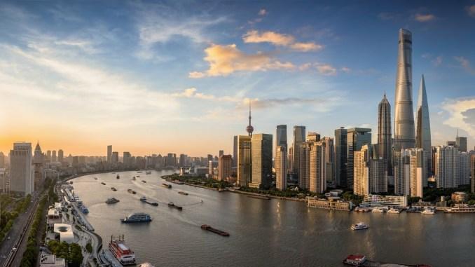 Ο πανύψηλος πύργος Shanghai Tower στην Κίνα