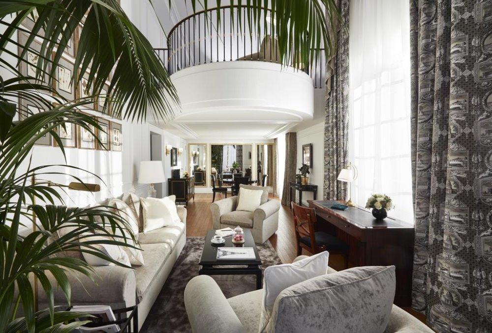 Σαλόνι στο Shangri La Hotel, Παρίσι