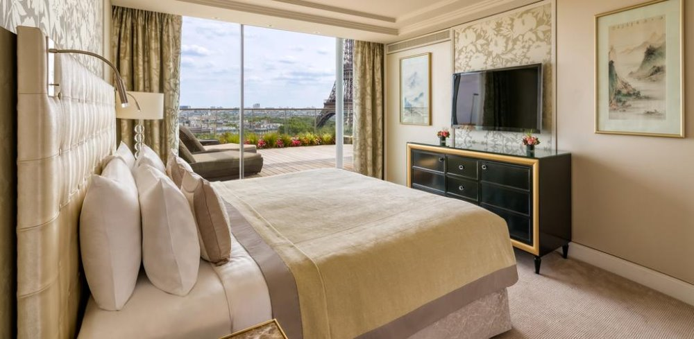 Σουίτα με θέα στο Shangri La Hotel