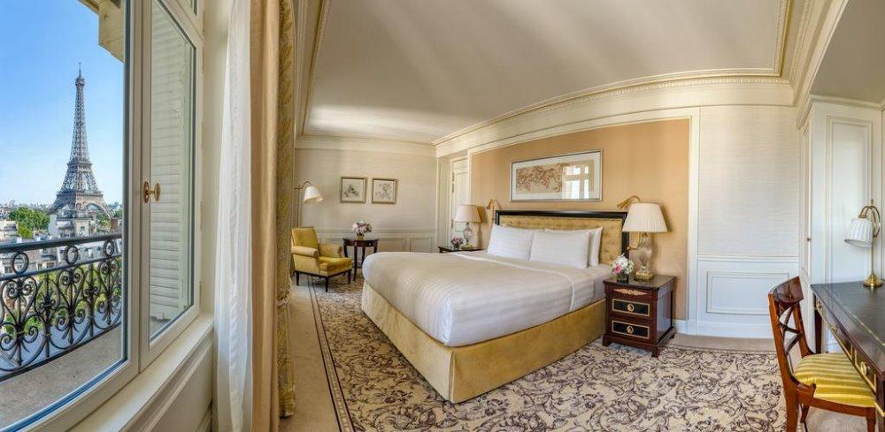 """Σουίτα στο Shangri La Hotel που """"κοιτάζει"""" τον πύργο του Άιφελ"""
