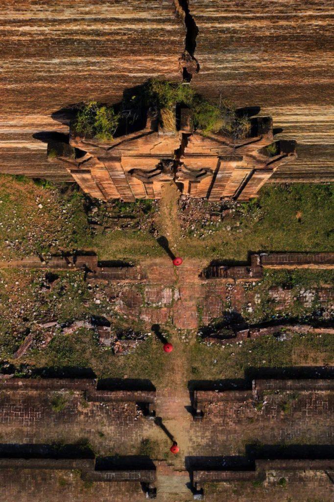 Stupa homage Μιανμάρ