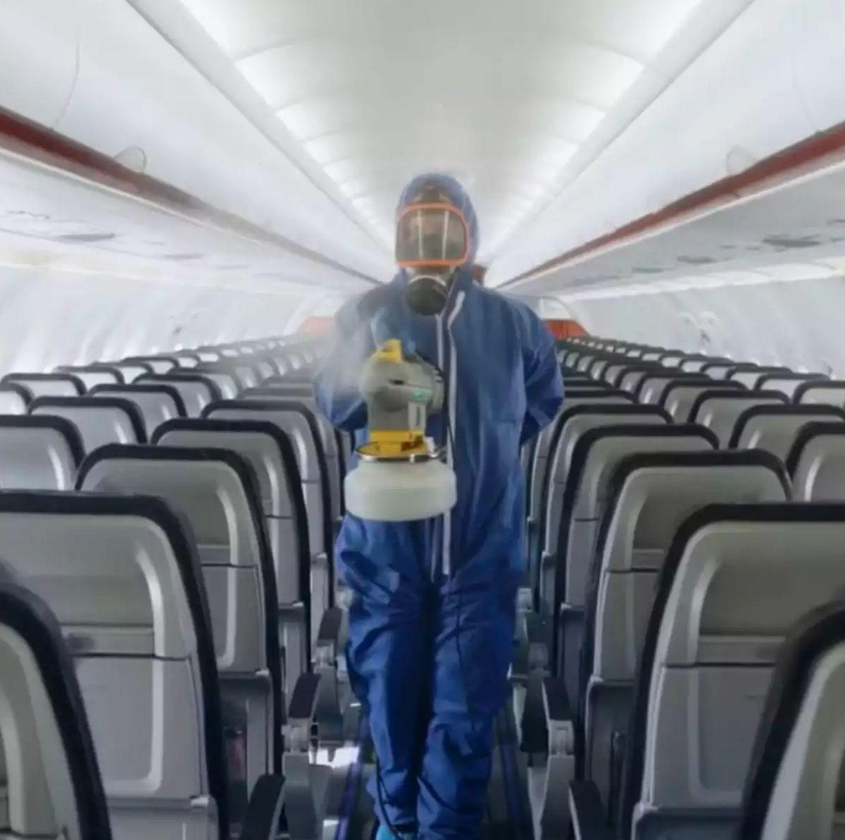 Τα αεροπλάνα απολυμαίνονται τακτικά