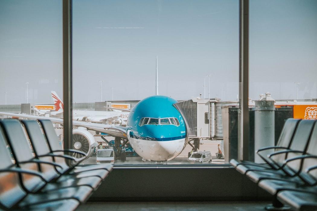 Αεροπλάνο μπλε