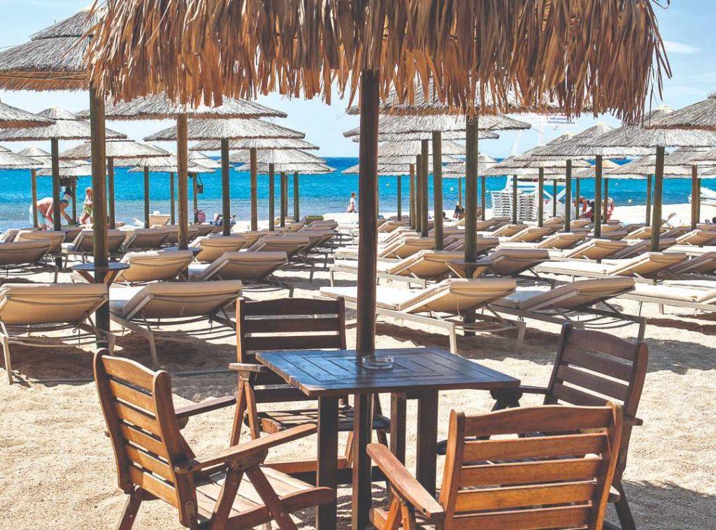 beach bar Αγράρι, Μύκονος