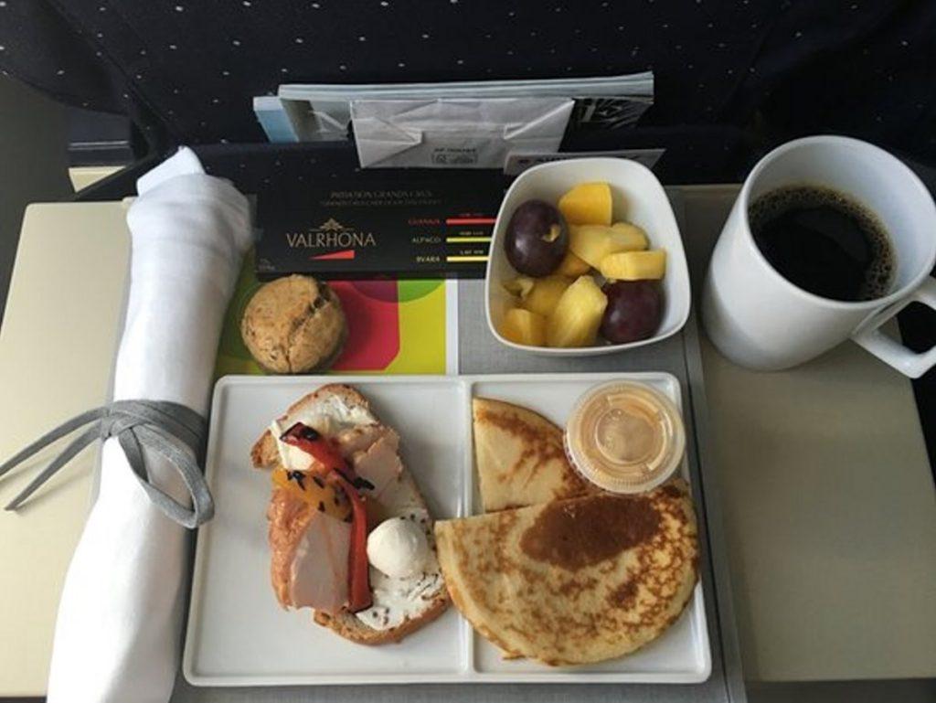 Το μενού στην Air France ανανεώνεται κάθε έξι μήνες