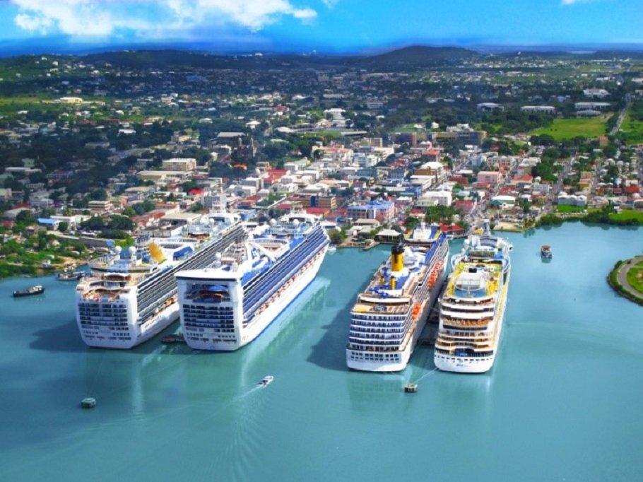 Αντίγκουα και Μπαρμπούντα λιμάνι