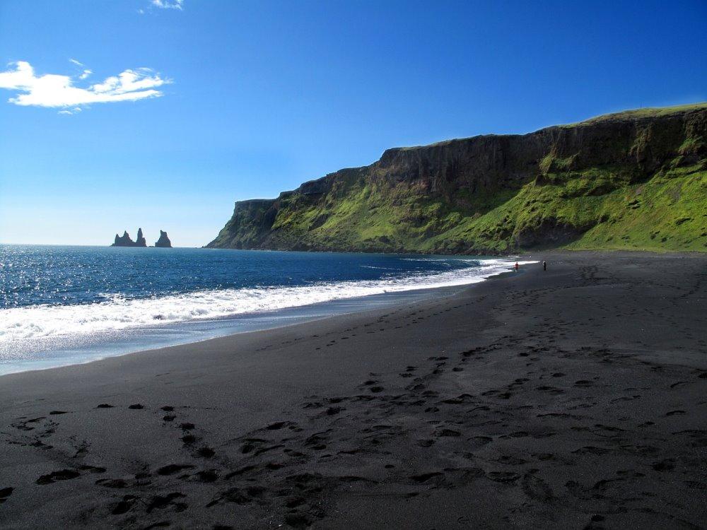 Παραλία στην Ισλανδία