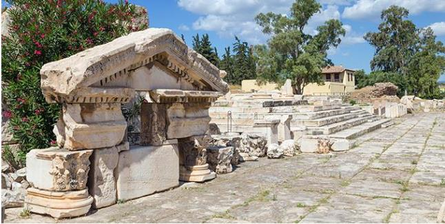 Αρχαία στην Ελευσίνα