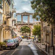 Πύλη Ολύμπιου Διός, Αθήνα