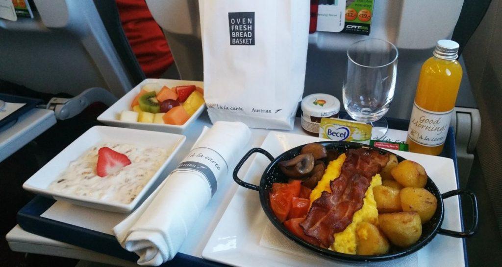 Το εκλεκτό μενού στην Austrian Airlines