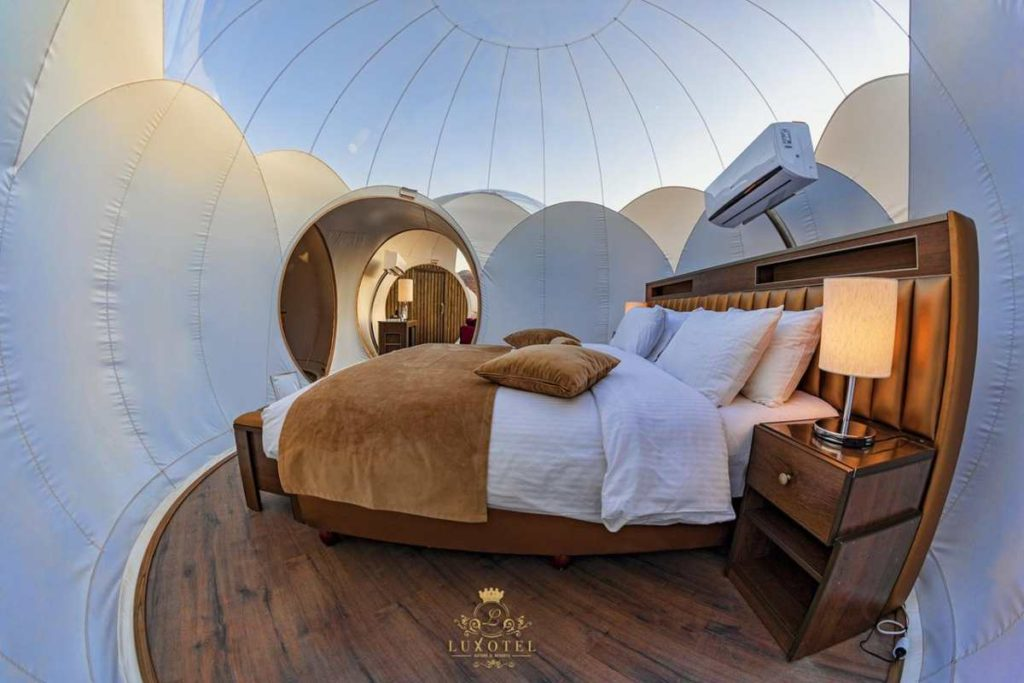 Bubble Luxotel εσωτερικό