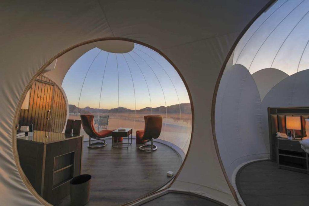 Bubble Luxotel, δωμάτια