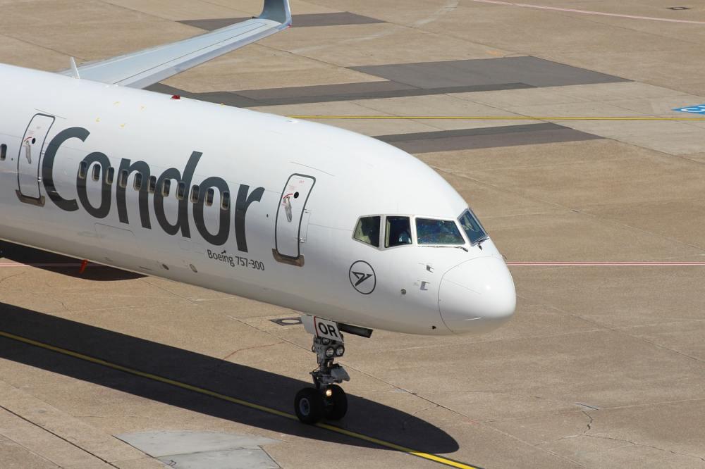 Αεροσκάφος της γερμανικής αεροπορικής εταιρείας Condor