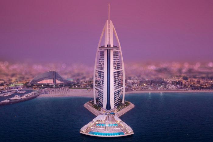 Burj Al Arab πισίνα