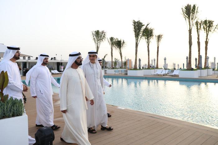 Πισίνα Burj Al Arab Ντουμπάι