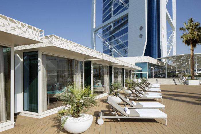 Burj Al Arab βεράντα πισίνας