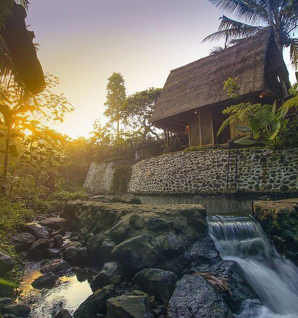 Σπίτι από bamboo, Μπαλί