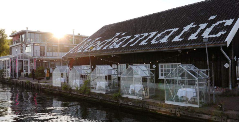 Εστιατόριο Ολλανδία κορονοϊός