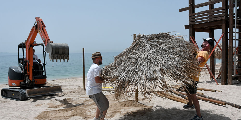 Ετοιμασία Παραλίες