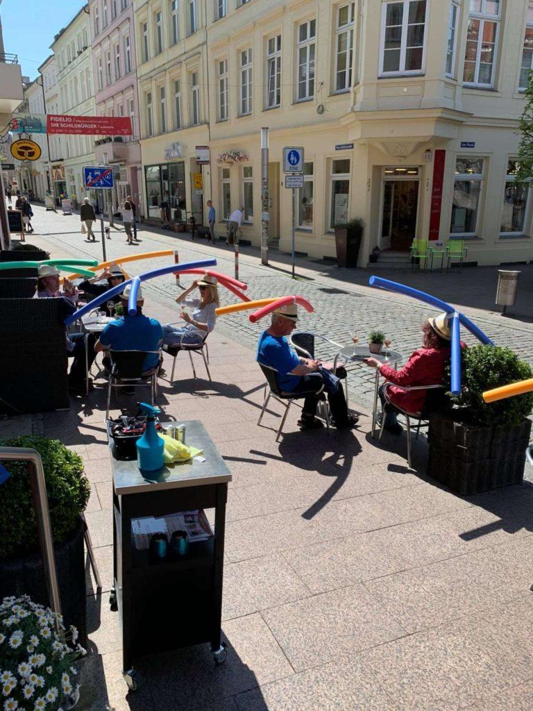 Καφέ, βόρεια Γερμανία
