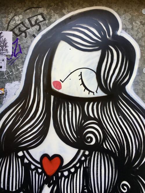 Graffiti στο κέντρο της πόλης, Αθήνα