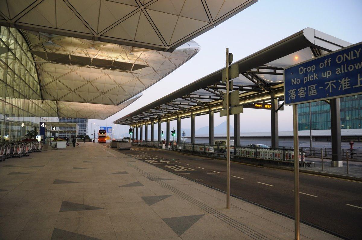 Αεροδρόμιο Χόνγκ Κόνγκ απαγόρευση πτήσεων