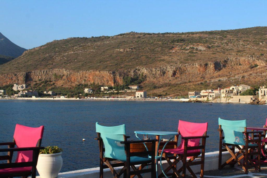 Καρέκλες, Θάλασσα
