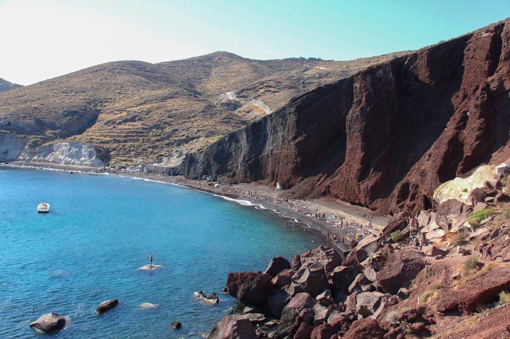 Κόκκινη παραλία Σαντορίνη