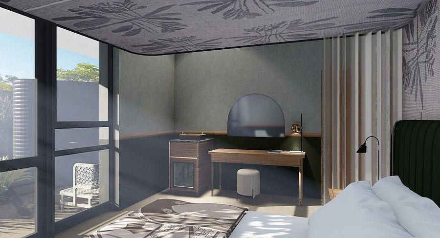 το εντυπωσιακό εσωτερικό στα δωμάτια του Kruger Shalati