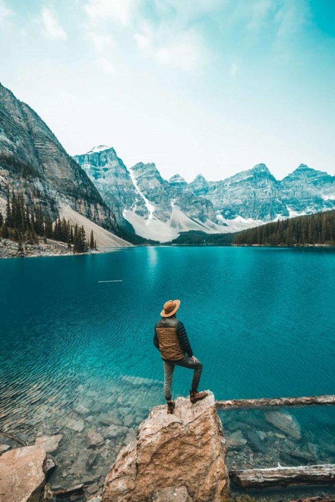 Λίμνη Moraine, Καναδάς