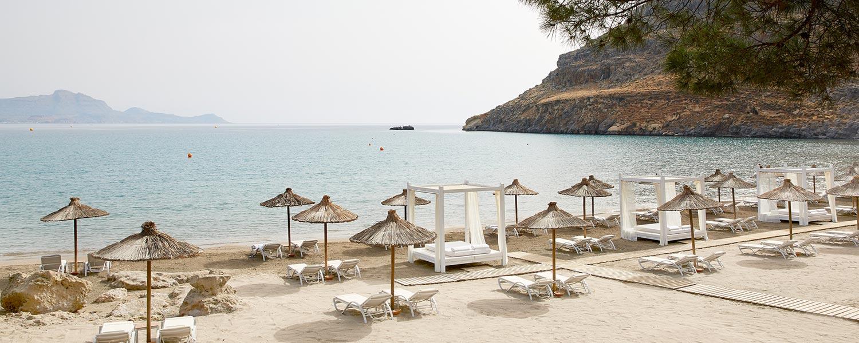 Lindos Blu παραλία