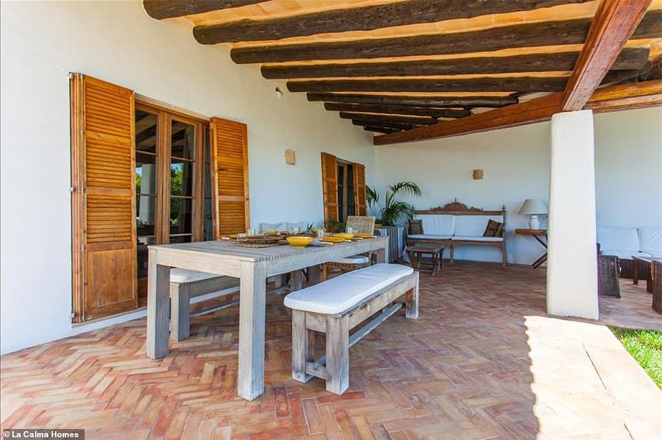 Μπαλκόνι Villa Ibizan