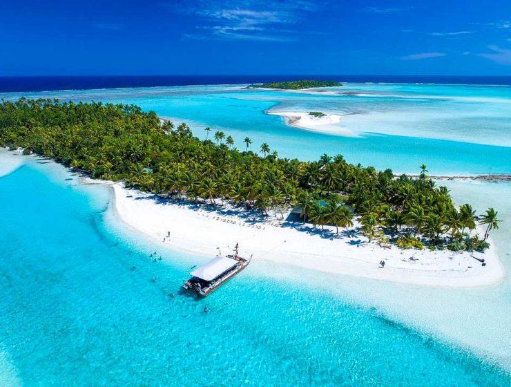 Νησιά Cooks από ψηλά
