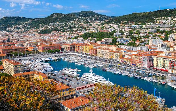 Λιμάνι στη Νίκαια Γαλλίας