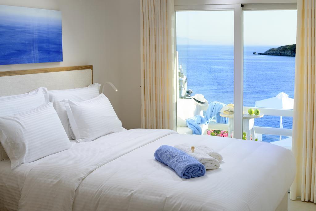 Θέα από το δωμάτιο στο Nissaki Boutique Hotel