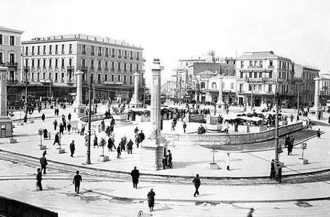 Πλατεία Ομόνοιας το 1800