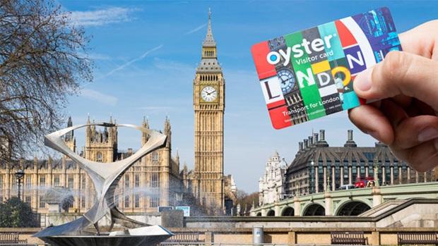 Oyster Card για μετακινήσεις στο Λονδίνο