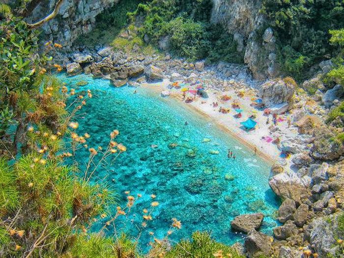 Παραλία Φακίστρα, Πήλιο