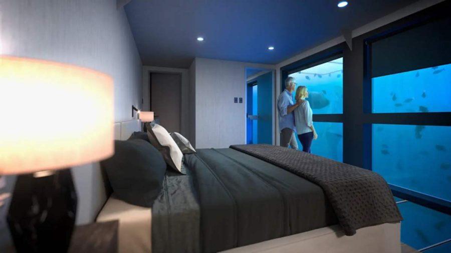 υποβρύχια δωμάτια Reefsuites