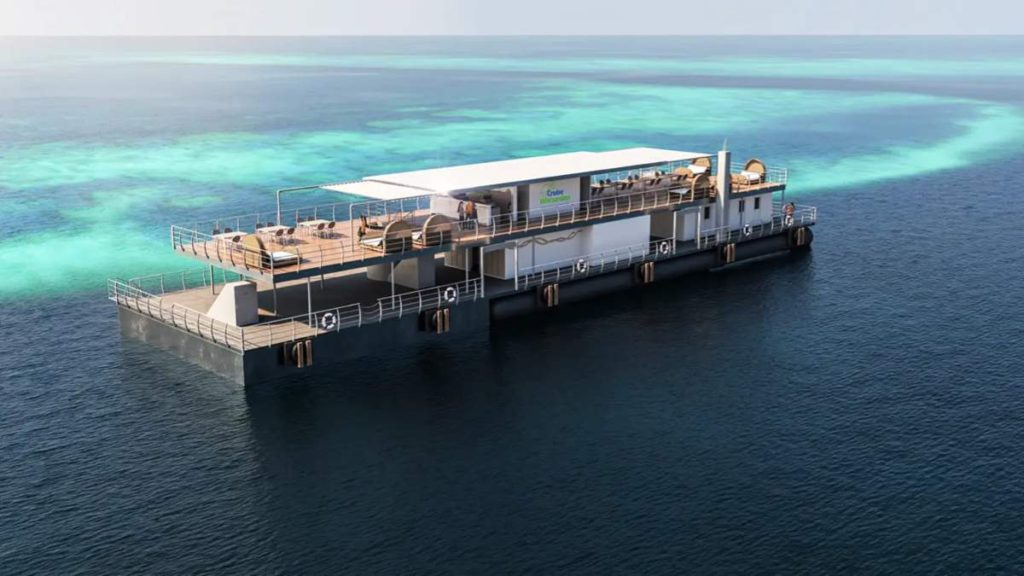 Ετοιμάζονται τα πρώτα υποβρύχια δωμάτια στο Μεγάλο Κοραλλιογενή Ύφαλο στην Αυστραλία!