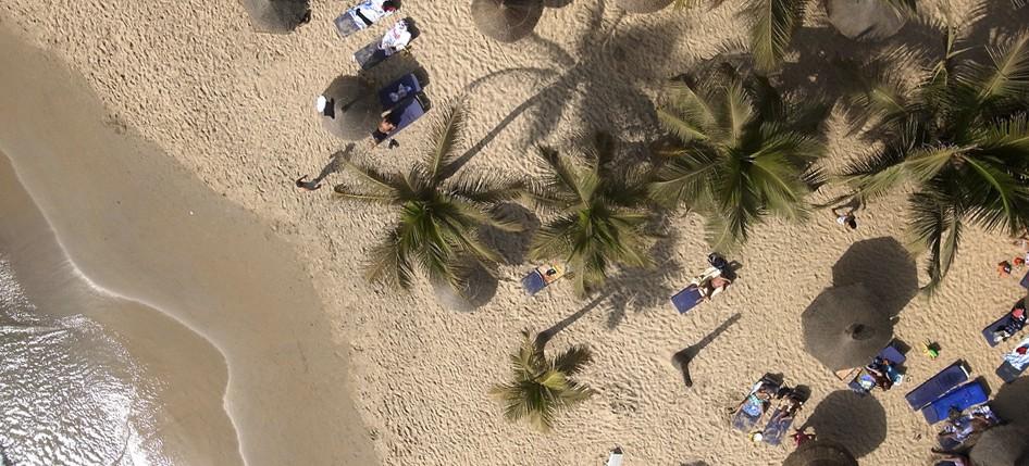 Τροπική παραλία στη Σενεγάλη