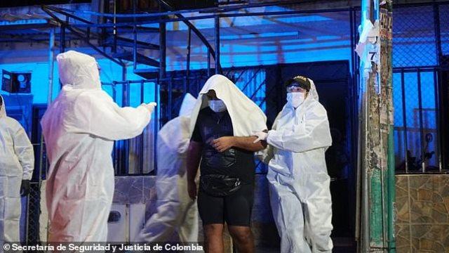 Συλλήψεις σε πάρτι, Κολομβία