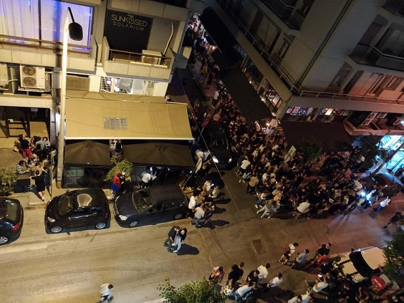 Υπάιθριο μπάρ στην Θεσσαλονίκη