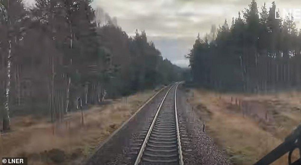 Η διαδρομή που διασχίζει το τρένο