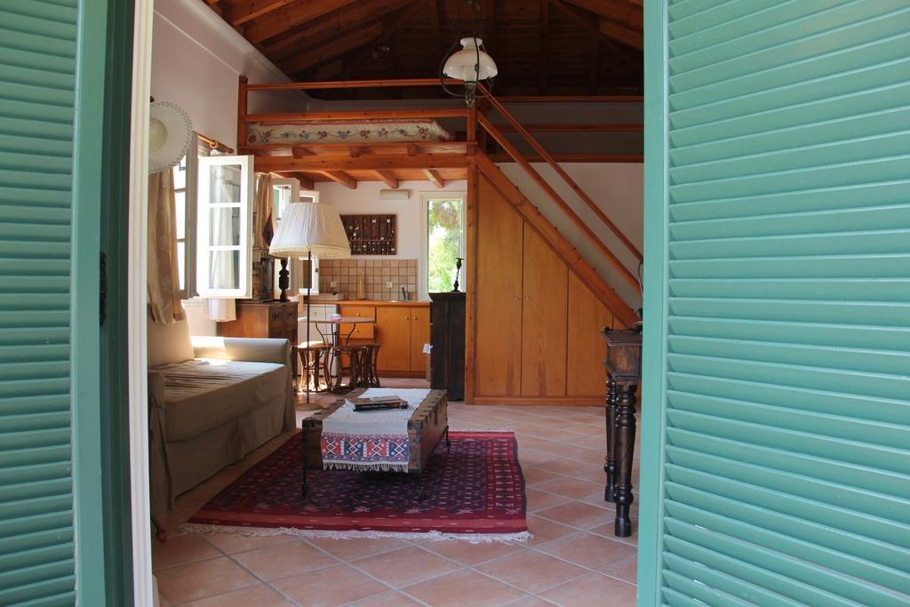 Το εσωτερικό του Villaconte Luxury Apartments