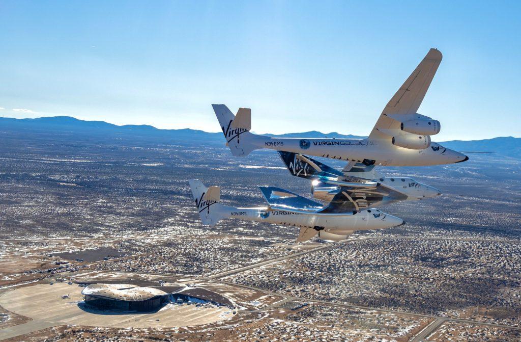 Η Virgin Galactic χρεώνει 1000 δολάρια για μια πτήση στο διάστημα