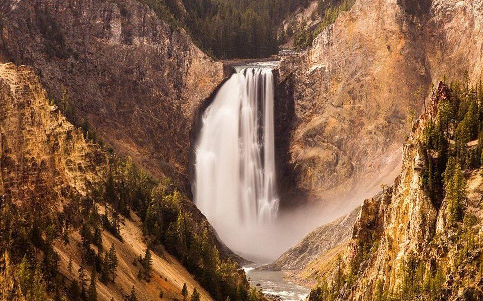 Waterfall Yellowstone
