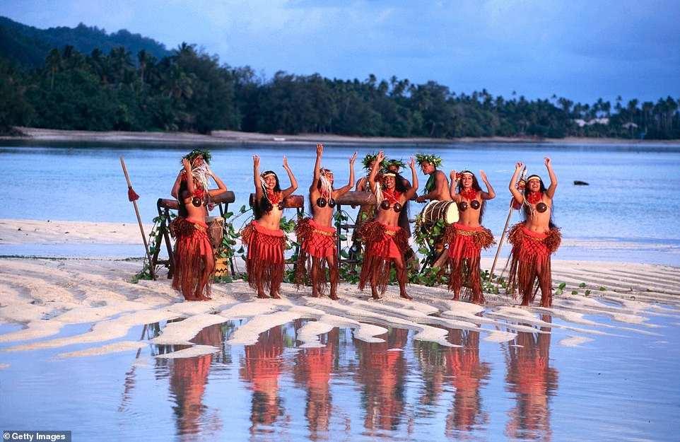 Χορεύτριες νησιά Cooks