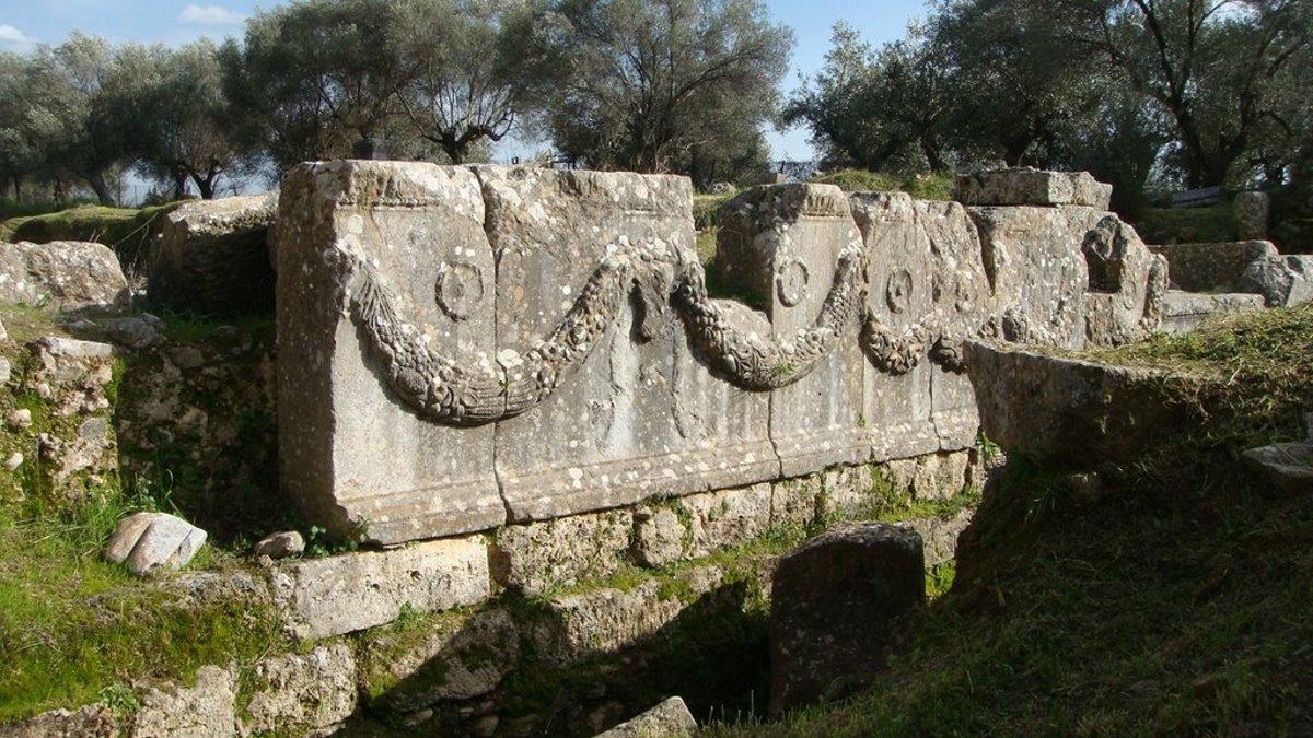 Μνημείο Ακρόπολη Αρχαίας Σπάρτης